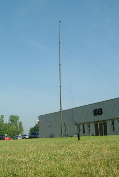 Geroh Quick Erecting Antenna Mast Qeam Screw Drive