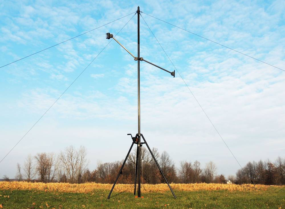 GEROH: AM2 – Tripod Mast with Mast Tube Lift Winch